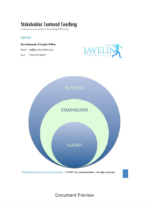 Centered Executive Coaching_Stakeholder Centered Coaching_Document Preview