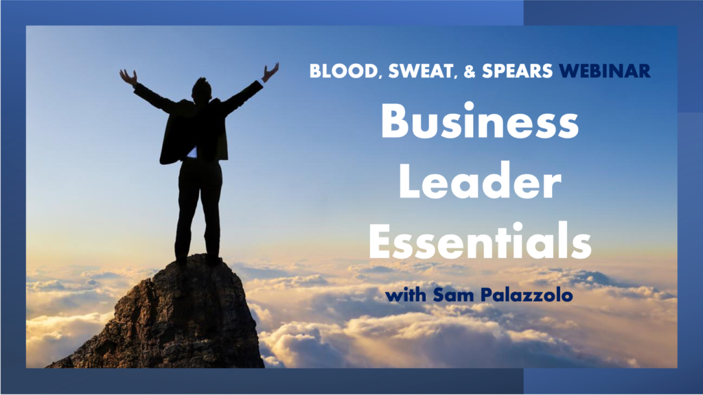 Business Leader Essentials Webinar